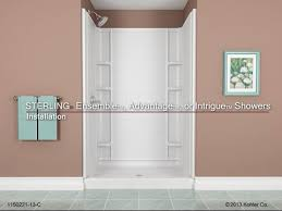 installation sterling ensemble advantage or intrigue showers