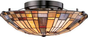 quoizel tfik1617va inglenook tiffany valiant bronze flush mount for tiffany flush mount ceiling light