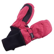 Snowstoppers Kids Stay On Waterproof Nylon Mittens Clothing