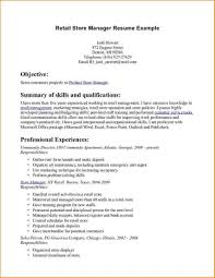resume examples for retail district managers coverletter for jobs resume examples for retail district managers retail resume objectives samples o resumebaking retail store manager resume