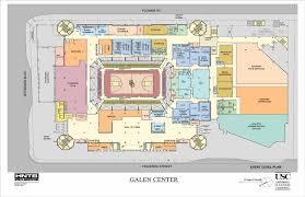 Arena Map Galen Center