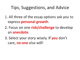 common application essay ppt video online  13 tips