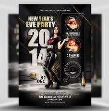 New Year's Eve Flyer Templates For Photoshop - Flyerheroes