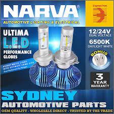 <b>Narva</b> H4 LED Headlight Performance Globes Ultima HIGH LOW ...