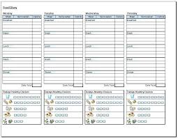 Weight Loss Tracker Spreadsheet Unique Weight Loss Food Tracker