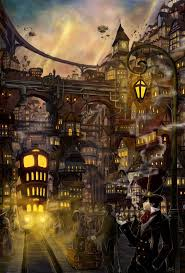 Risultati immagini per steampunk art