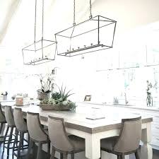chandelier height above dining table average of
