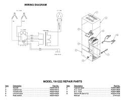 snap on model ya1222 battery charger parts list wiring diagram snap on model ya1222 battery charger