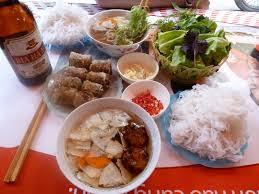 Image result for bun cha hanoi