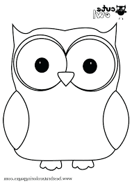 Free Printable Owl Coloring Pages Cute Owl Coloring Page Special