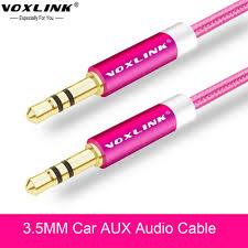 online get cheap car audio speaker wires aliexpress com alibaba Aux Cable To Speaker Wire voxlink 3 5 mm jack aux audio cable 1m gold plated nylon 3 5mm car audio cable auxiliary cable to speaker wire