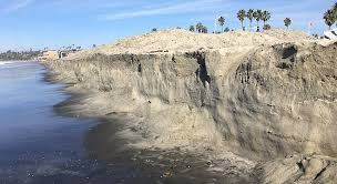 Christmas King Tides Ravage Cardiff By The Sea San Diego