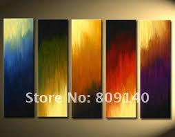 free oil painting canvas abstract color artwork high quality handmade modern home decoration office wall art decor gift