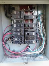 electrical when replacing a circuit breaker in the service panel service panel image