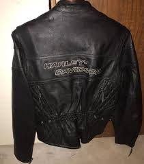 harley davidson leather jacket competition ii w liner 98110 97vw womens large