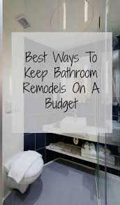 Best  Cheap Bathroom Makeover Ideas On Pinterest - Bathroom makeover