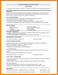 Canada Resume Example Example Of Canadian Resume Examples of Resumes 41