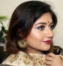festive indian makeup for dusky skin