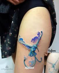 колибри значение татуировок в краснокаменске Rustattooru