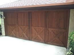 pecan ready seal garage door