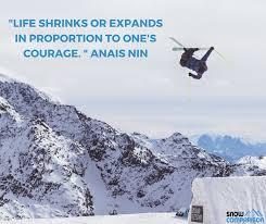 Skiing Quotes Unique TOP 48 INSPIRATIONAL QUOTES