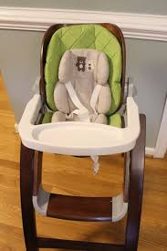 bentwood high chair with infant insert