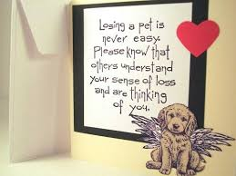 Card For Loss Of Pet Loss Of Pet Dog Poster Quote Loss Of A Pet Sympathy Cards Pet