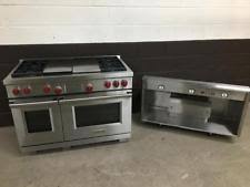 wolf dual fuel range. Perfect Fuel 2 Pc Set Wolf DF484CG 48 Intended Dual Fuel Range S