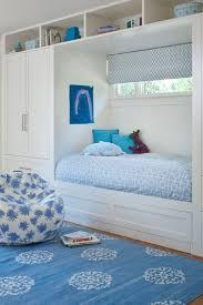 Blue Kids Alcove Bed Design Ideas
