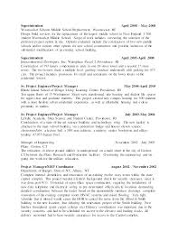 Junior Project Manager Resume Project Manager Cover Letter Sample