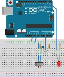 arduino clap switch project for beginners arduino clap switch project breadboard layout