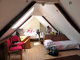 tremendous small teenage attic bedroom decorating ideas with double red armless chairs as well single pink bed covers also walnut cabinetry inspiring attic bedroom design ideas s52 attic
