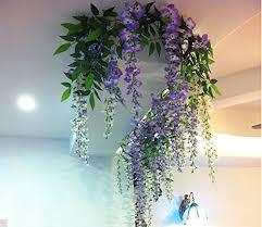 Amazoncom Bringsine Artificial Flowers Silk Flowers Artificial Artificial Flower Decoration For Home