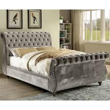 upholstered sleigh beds. Beautiful Sleigh Noella Upholstered Sleigh Bed On Beds