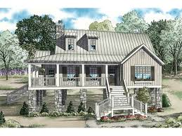 raised house plans. Mountain Home Plan Front Of - 055D-0847 | House Plans And More Raised