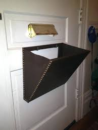 door with mail slot mail slot catcher pouch basket box by front door mail slot cover door with mail slot
