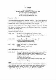 Enchanting Good Personal Statements For Resumes In Personal Banker
