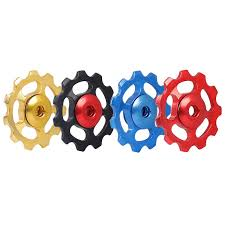 <b>11T</b> Bike Guide Wheel <b>Aluminum</b> Alloy Bearing Pulley Guide Roller ...