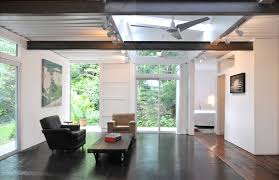 PSP shipping container home interior