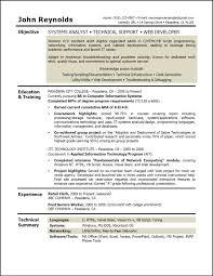 System Analyst Resume Samples Systems Analyst Sample Resume ResumePower Shalomhouseus 3