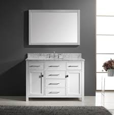 Bathroom : 60 Inch White Bathroom Vanity Double Sink Home Design ...