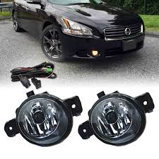 2010 Nissan Maxima Fog Light Kit Details About Direct Fit Clear Lens Fog Light W Switch Harness Kit For 2007 2015 Nissan Maxima