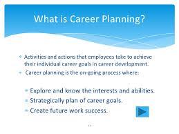 What Is Career Development Human Resources Management Career Planning Development