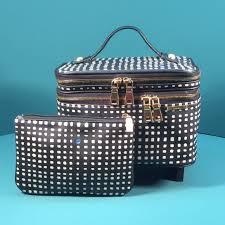 kestrel dual zip train case large beauty bag