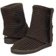 cheap women ugg classic cardy boots chocolate 5819