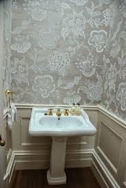 flower wallpaper for house. celerie kemble for schumacher hothouse flowers sisal fog \u0026 chalk wallpaper flower house s