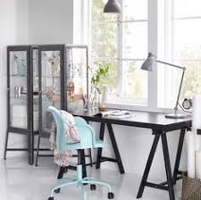 home office desk ikea. Highlight Creativity With Dark Contrasts Like This Home Office TORNLIDEN Desk In Black, Ikea