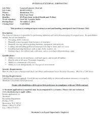 Cover Letter For General Labor General Labor Resume Sample Cover