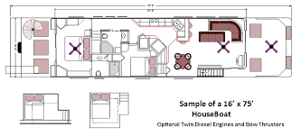home office layout house boat sample design