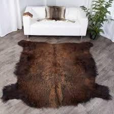 fur pelts skins buffalo rugs caribou
